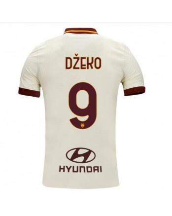 Roma Away DZEKO Soccer Jersey 2020-21