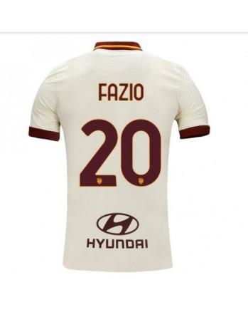 Roma Away FAZIO Soccer Jersey 2020-21
