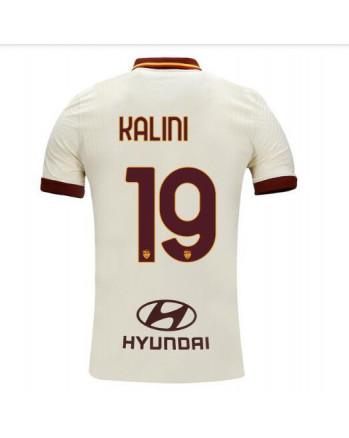 Roma Away KALINIC Soccer Jersey 2020-21