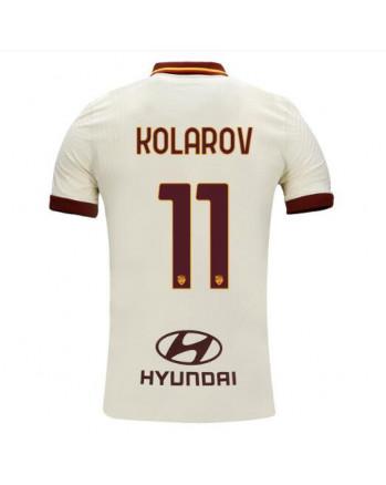 Roma Away KOLAROV Soccer Jersey 2020-21