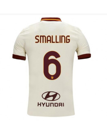 Roma Away SMALLING Soccer Jersey 2020-21