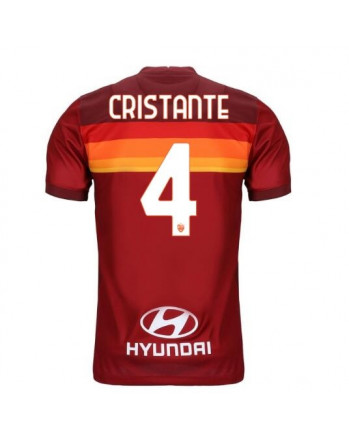 AS Roma Home CRISTANTE Soccer Jersey 2020-21