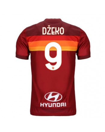 AS Roma Home DZEKO Soccer Jersey 2020-21