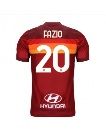 AS Roma Home FAZIO Soccer Jersey 2020-21