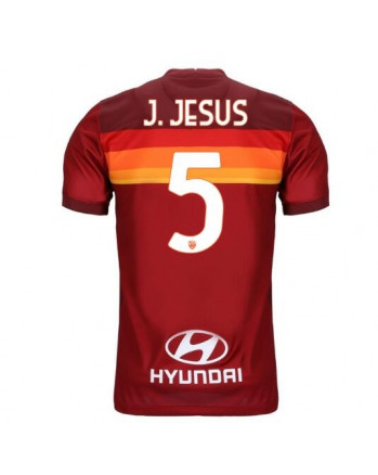 AS Roma Home J. JESUS Soccer Jersey 2020-21