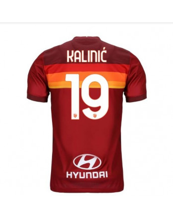 AS Roma Home KALINIC Soccer Jersey 2020-21