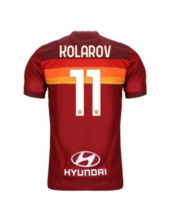 AS Roma Home KOLAROV Soccer Jersey 2020-21