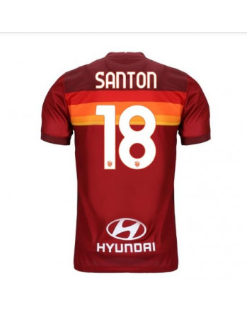 AS Roma Home SANTON Soccer Jersey 2020-21