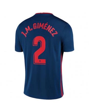 Atletico Madrid Away J.M.GIMENEZ Soccer Jersey 2020-21