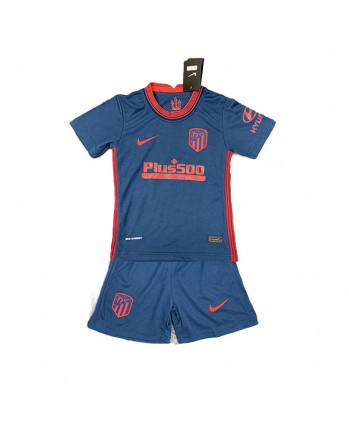 Atletico Madrid Away Kids Soccer Kit 2020-21