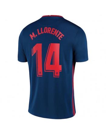 Atletico Madrid Away M. LLORENTE Soccer Jersey 2020-21