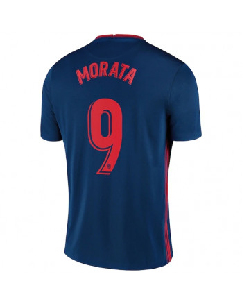 Atletico Madrid Away MORATA Soccer Jersey 2020-21