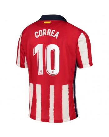 Atletico Madrid Home CORREA Soccer Jersey 2020-21
