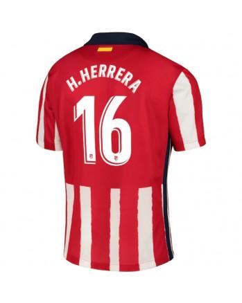 Atletico Madrid Home H.HERRERA Soccer Jersey 2020-21
