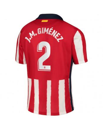Atletico Madrid Home J.M.GIMENEZ Soccer Jersey 2020-21
