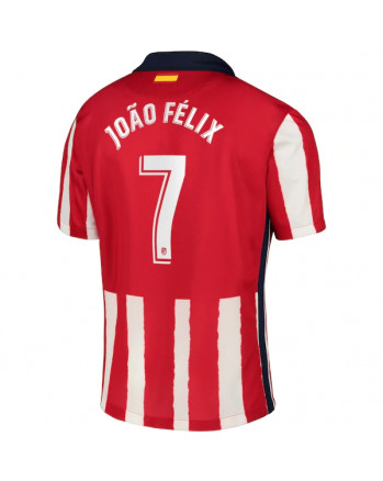 Atletico Madrid Home JOAO FELIX Soccer Jersey 2020-21