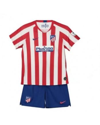 Atletico Madrid Home Kids Soccer Kit 2019-20