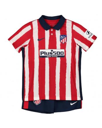 Atletico Madrid Home Kids Soccer Kit 2020-21
