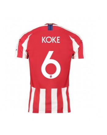 Atletico Madrid Home KOKE Soccer Jersey 2019-20