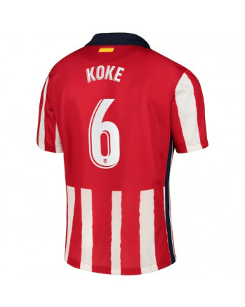 Atletico Madrid Home KOKE Soccer Jersey 2020-21