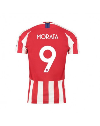 Atletico Madrid Home MORATA Soccer Jersey 2019-20