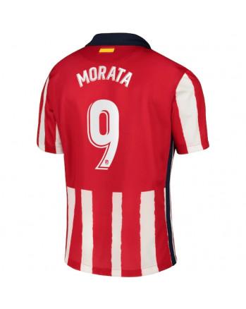 Atletico Madrid Home MORATA Soccer Jersey 2020-21