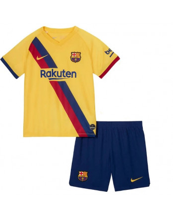 Barcelona Away Kids Soccer Kit 2019-20