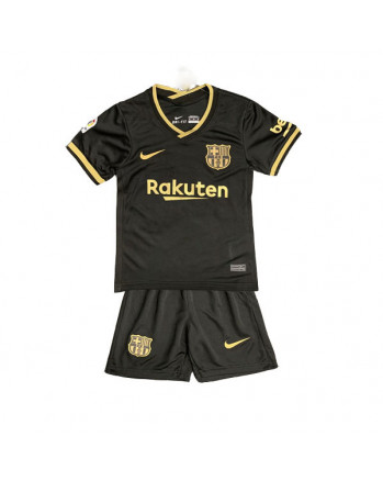 Barcelona Away Kids Soccer Kit 2020-21