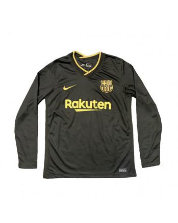 Barcelona Away Long Sleeve Soccer Jersey 2020-21