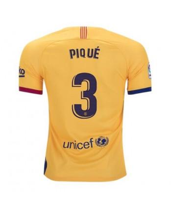 Barcelona Away PIQUE Soccer Jersey 2019-20