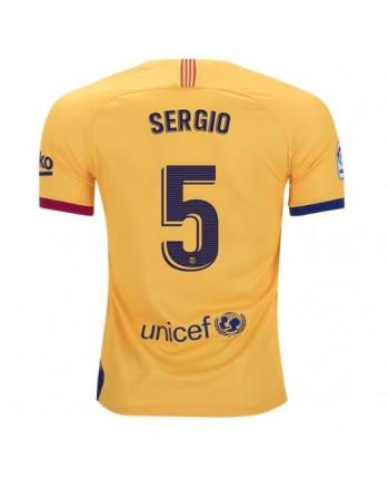Barcelona Away SERGIO Soccer Jersey 2019-20
