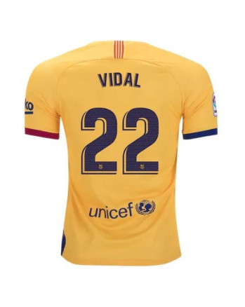 Barcelona Away VIDAL Soccer Jersey 2019-20