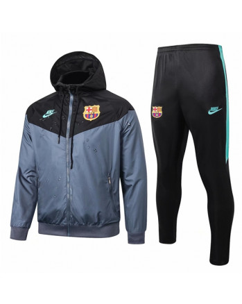 Barcelona Black Training Tracksuit 2019-20