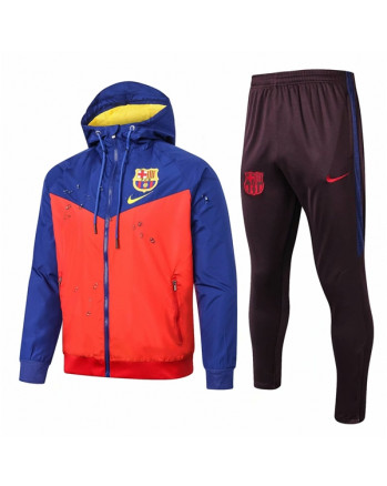 Barcelona Blue&Red Training Tracksuit 2019-20