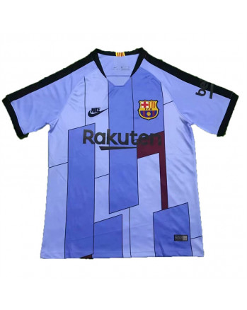 Barcelona Blue Training Soccer Jersey 2019-20