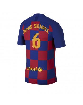 Barcelona Home DENIS SUAREZ Soccer Jersey 2019-20