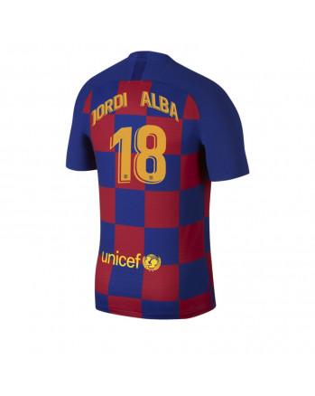 Barcelona Home JORDI ALBA Soccer Jersey 2019-20