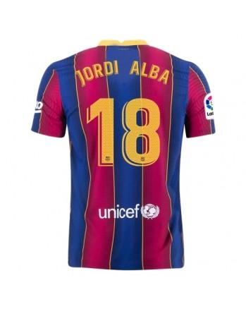 Barcelona Home JORDI ALBA Soccer Jersey 2020-21