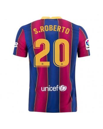 Barcelona Home S.ROBERTO Soccer Jersey 2020-21