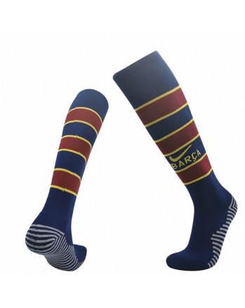 Barcelona Home Soccer Socks 2020-21