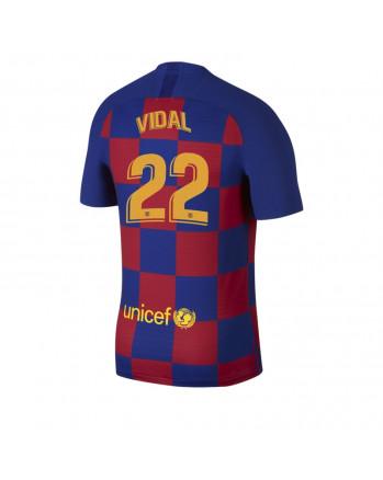 Barcelona Home VIDAL Soccer Jersey 2019-20