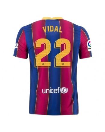 Barcelona Home VIDAL Soccer Jersey 2020-21