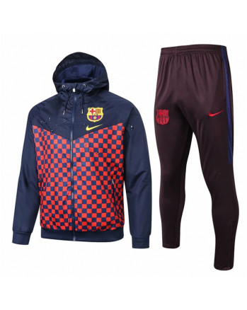 Barcelona Navy&Red Training Tracksuit 2019-20