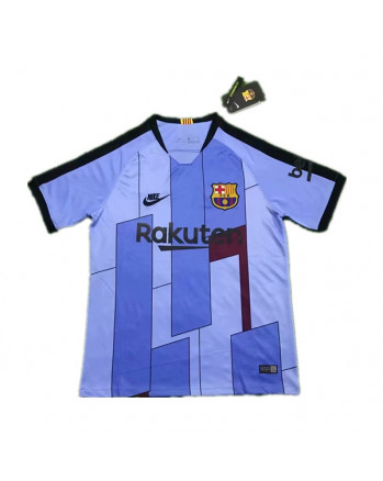 Barcelona Pre Match Training Jersey 2019-Blue