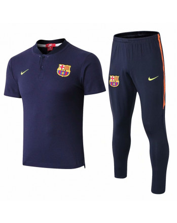 Barcleona Training Polo Suit 2019-20