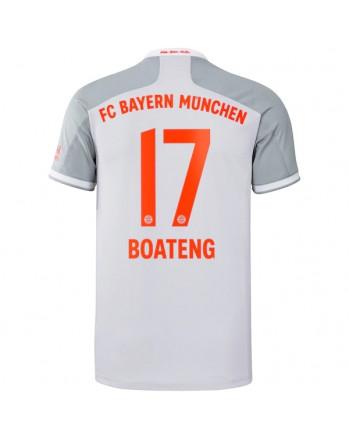 Bayern Munchen Away BOATENG Soccer Jersey 2020-21