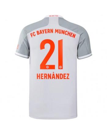 Bayern Munchen Away HERNANDEZ Soccer Jersey 2020-21
