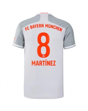 Bayern Munchen Away MARTINEZ Soccer Jersey 2020-21