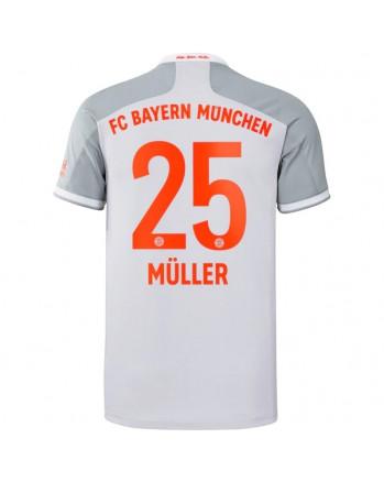 Bayern Munchen Away MULLER Soccer Jersey 2020-21