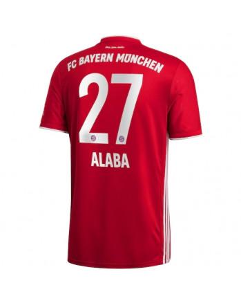 Bayern Munchen Home ALABA Soccer Jersey 2020-21